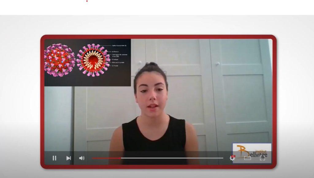Los alumnos han realizado videos sobre la COVID-19