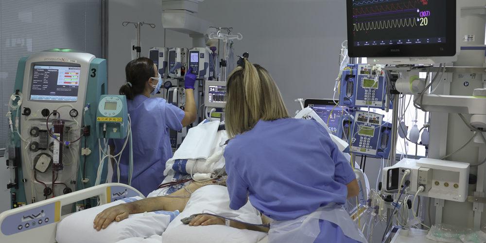 Unitat de Cures Intensives de l'Hospital de Bellvitge 1